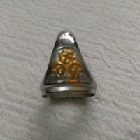 Cincin Ikatan Batu Akik Tanam Titanium Size 13x18mm