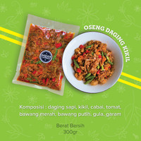 Oseng Daging Kikil by Miens Catering