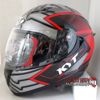 Helm KYT Falcon motif Armour Black Red not Vendetta armor Full Face