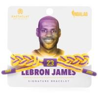 Los Angeles Lakers LeBron James Rastaclat 2018-19 Player Bracelet