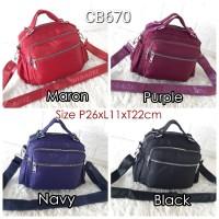 CB670 Tas wanita Import CHIBAO 3in1