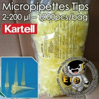 1000pcs Tip Mikropipet / mikro pipet or Micropipette Tips 20-200uL