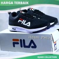 Sneakers Import Sepatu Casual Sneakers Fila Running Untuk Senam Zumba