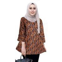 Blouse Batik Atasan Wanita Seragam Batik Couple