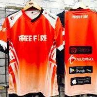 JERSEY FREE FIRE - BISA TAMBAH NICKNAME