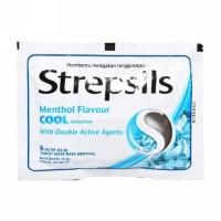 Strepsils Cool Sensation Menthol [ 6 butir ]