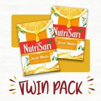 NutriSari Jeruk Manis 750gr Twin Pack