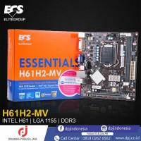 ECS ESSENTIALS H61H2-MV MOTHERBOARD LGA 1155 INTEL H61 DDR3