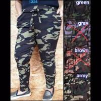 Celana Mancing Terlaris - Celana Panjang Motif Armi Army ABRI Militer
