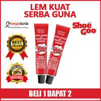Shoe GOO Adhesive Mini 2pcs Made in USA - Lem Sepatu Sandal 100%