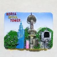 Magnet Kulkas Korea Seoul Tower 11-93