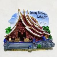 Magnet Kulkas Luang Prabang Laos 11-98