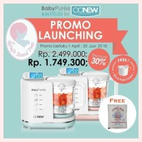 OONEW Baby Pure 6in1 Digital Baby Food Processor