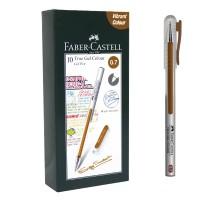 Faber-Castell True Gel Pen -- Soft Brown Ink 0.7 mm