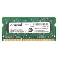 Crucial 2G 1600S 2x2GB (4GB) RAM PC3-12800 DDR3-1600MHz 204-Pin