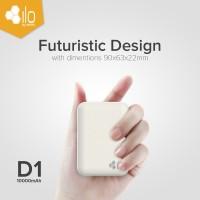 Hippo Powerbank Ilo D1 10000 mAh Futuristic Design