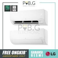 LG AC 1 1/2 (1.5) PK Inverter DUALCOOL Hemat Listrik- T13EV4