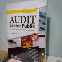 Buku - AUDIT SEKTOR PUBLIK - Edisi 3 Full Print - Prof Indra Bastian