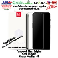 ( MURAH !! ) Official OnePlus 6T 3D Tempered Glass Screen Nylon Case
