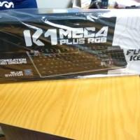 Diskon Keyboard K1 Meca Plus Rgb . Blue Switch .