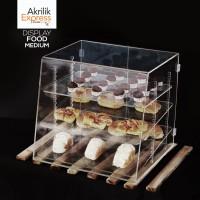 Tempat kue akrilik / display kue / tempat kue