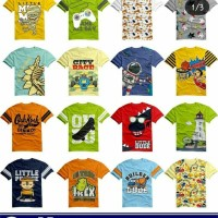 Kaos anak cool bee junior sz 6 8 10 12 14