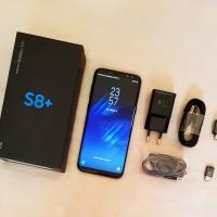 Samsung Galaxy S8 Plus Dual SIM Warna Hitam - Lengkap Mulus No Minus