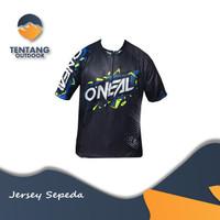 Kaos Jersey Sepeda Baju Gowes Lengan Pendek Roadbike Trek A026 MTB