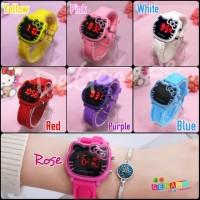 Jam tangan digital anak remaja wanita Hello Kitty