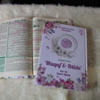 ALQURAN AL QURAN WAQAF IBTIDA SUARA AGUNG A5 COVER MUSLIMAH