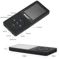 MP3 PLAYER RUIZU X02 RADIO FM PLAYER MP3 WAV WMA ORIGINAL RUIZU X02