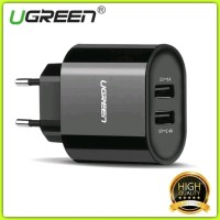 Charger UGREEN 5V 3.4A 12 W Universal Dual USB Certified Original for