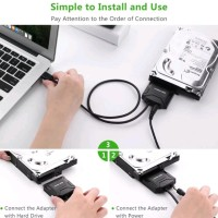 UGREEN USB 3.0 to SATA III HDD SSD Kabel Converter with Adapter Cable