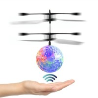 Flying Ball / Quadcoper Drone Sensor Tangan Toy Mainan Anak - AHM162