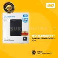 WD Element 1TB USB 3.0 - HD / HDD / Harddisk External