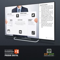 Template PowerPoint PRODUCT CANVAS | PresentationLoad
