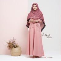 GAMIS ARASYA DRESS CANDY SIZE L GAMIS ONLY by ATHIYYAH