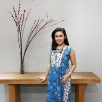 Dress Batik Katun Tulis Lasem Brand Batik Muda - BAAD2515 (XXL)