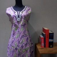 Dress Batik Katun Tulis Lasem Brand Batik Muda Uk XL - BAAD25154