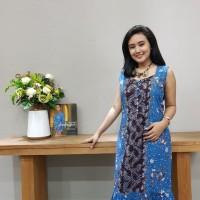 Dress Batik Katun Tulis Lasem Brand Batik Muda (Uk M, L, XL)
