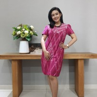 Dress Batik Katun Cirebon Uk S Brand Batik Muda – BAAD72121