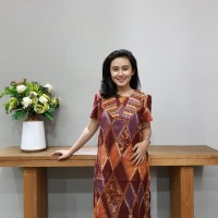 Dress Batik Katun Cirebon Uk M Brand Batik Muda – BAAD72122
