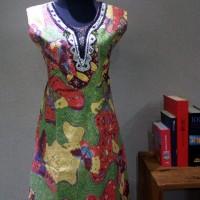 Dress Batik Katun Tulis Lasem Brand Batik Muda (XL) - BAAD25154