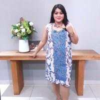 Dress Batik Katun Tulis Lasem Brand Batik Muda Uk XXL - BAAD25155