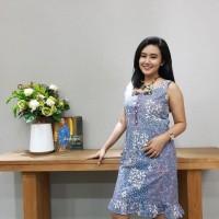 Dress Batik Katun Tulis Lasem Brand Batik Muda ( Uk M, L) - BAAD2515