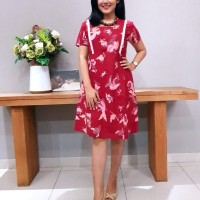 Dress Batik Katun Cirebon Brand Batik Muda – BAAD72112 (Uk M)