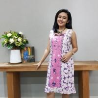 Dress Batik Katun Tulis Lasem Brand Batik Muda - BAAD25153 (Uk L)