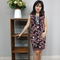 Dress Batik Katun Tulis Lasem Brand Batik Muda Uk S - BAAD25151