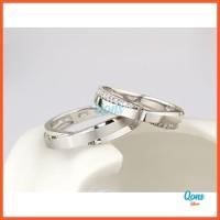 Cincin Kawin Custom Pasangan Couple Sterling Silver Perak 925 RSL098