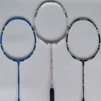 Raket Badminton SLR PLAYER 75 77 79 ORIGINAL Bonus Grip Packing Kayu